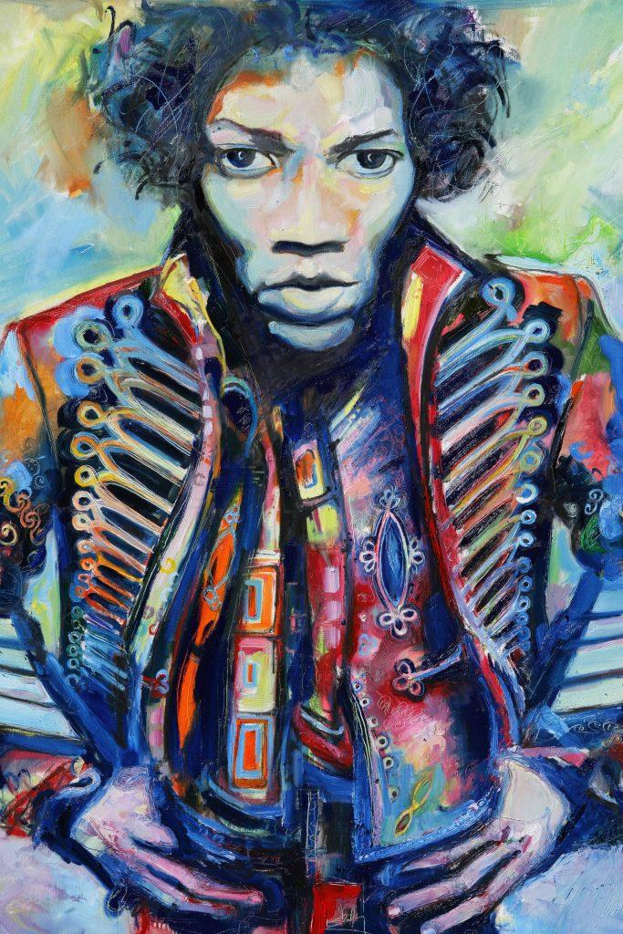 Disorder Art meets fashion. Jimi Hendrix