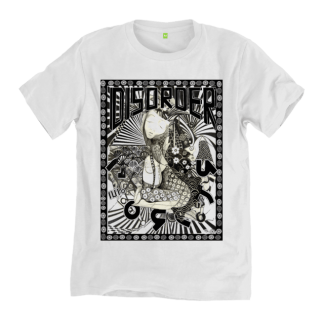 Oriental Disorder T-Shirt sustainably made t-shirt by Disorder. Inspired by Bagan, Myanmar, Bagan Princess. Handmade by Disorder in UK