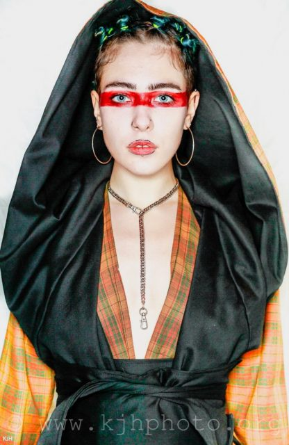 The Tartan Reversible Hooded Kimono Coat by Disorder is handcrafted by our expert experienced tailors in our Birmingham, UK based studio.