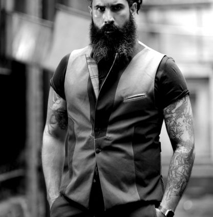 The Disorder Waistcoat is sustainably handmade by Disorder. Every waistcoat is lovingly hand crafted by our team of skilled tailors, in the UK