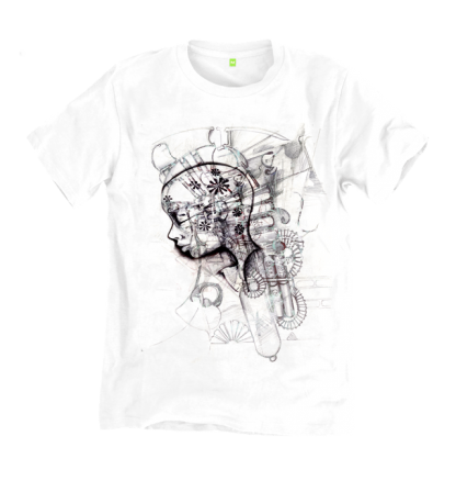 Bladerunner S33 t shirt, inspired by film Bladerunner and the book, Do androids dream of electric sheep, sustainably made by Disorder UK