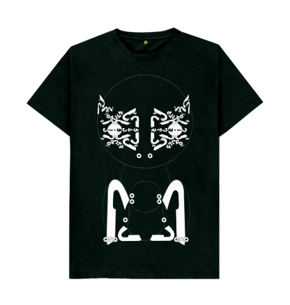 The Feliformia T-Shirt by Disorder is an organic cotton sustainably made t shirt. Feliformia image is handmade by Disorder in Birmingham, UKThe Feliformia T-Shirt by Disorder is an organic cotton sustainably made t shirt. Feliformia image is handmade by Disorder in Birmingham, UK