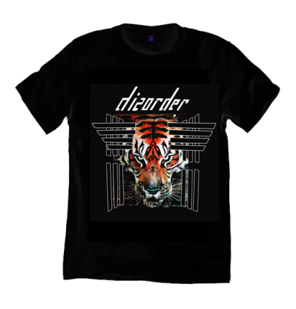 The Disorder Tiger T-Shirt by Disorderis a print from an original painting by one of Disorder's founders. Sustainably made in UK