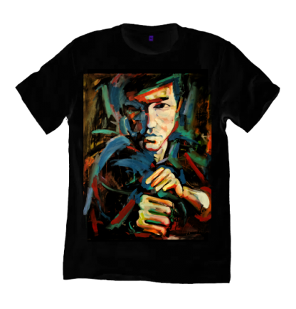 Bruce Lee Black t shirt