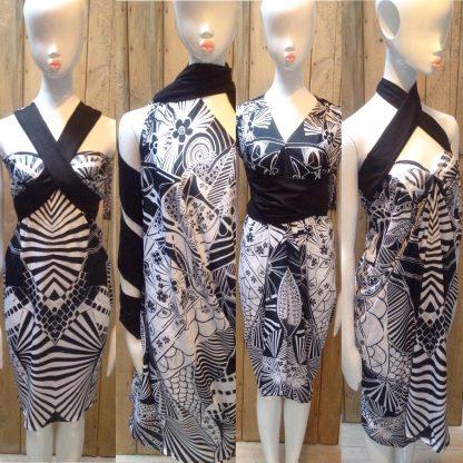 Koi Halter neck dress 4 in 1