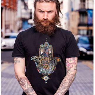 Rainbow Hand t shirt by Disorder