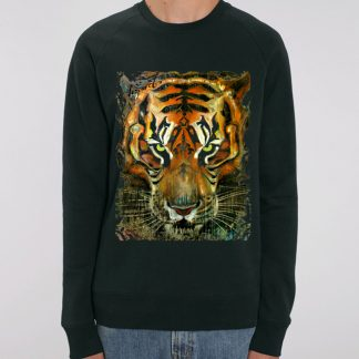 Burmese Tiger Painting Jumper